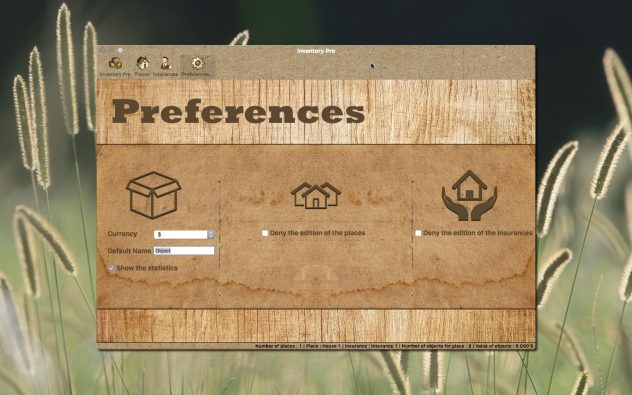 Inventory Pro Preferences